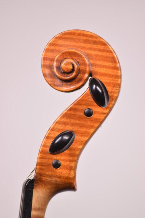Viola Scroll side